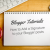 How to Add a Signature to your Blogger posts